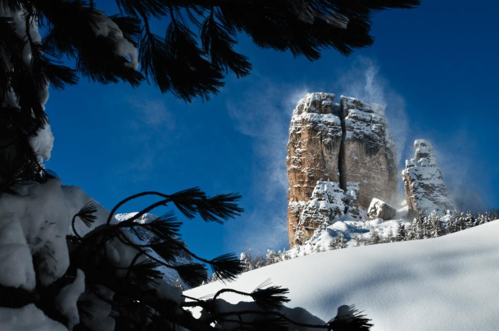 Cortina - 5 torri in the Dolomites
