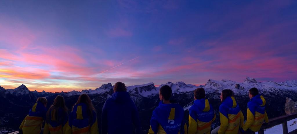 Cortina - Snow Dreamers ski school in Lagazuoi